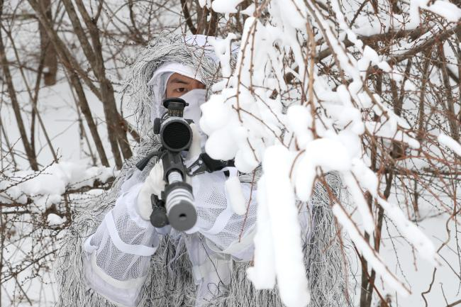 육군특수전사령부 독수리부대, 설한지 극복훈련 1.jpg