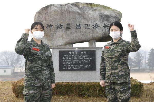 해병대 여군들, 소아암 투병 환자 위해 모발 기증 3.jpg