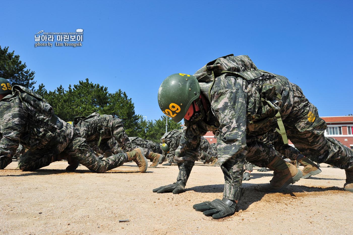 해병대 신병 1256기 2주차 3교육대 전투체력 5_6137.jpg