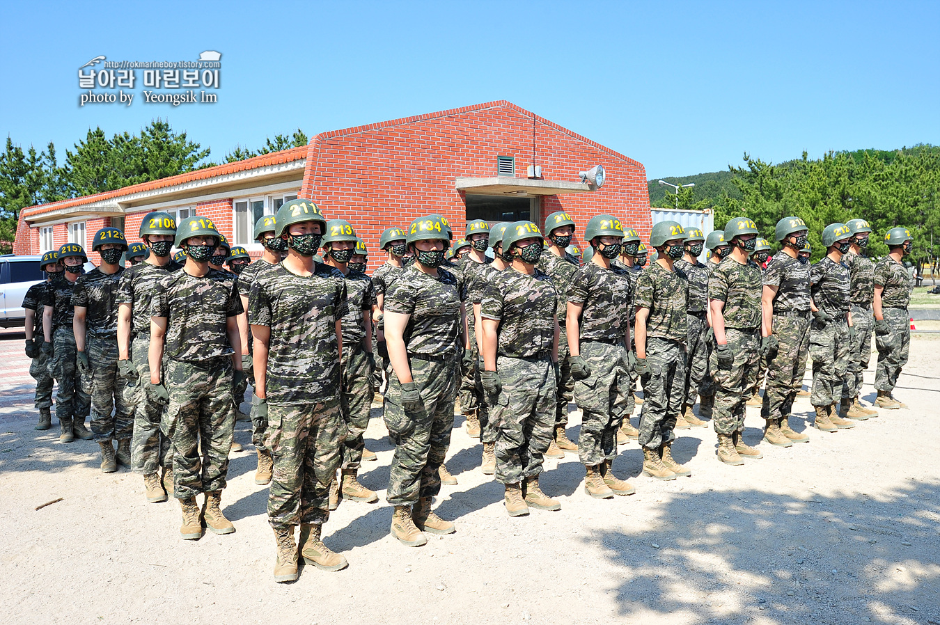 해병대 신병 1257기 2교육대 6주차 목봉 참호격투 1_5536.jpg