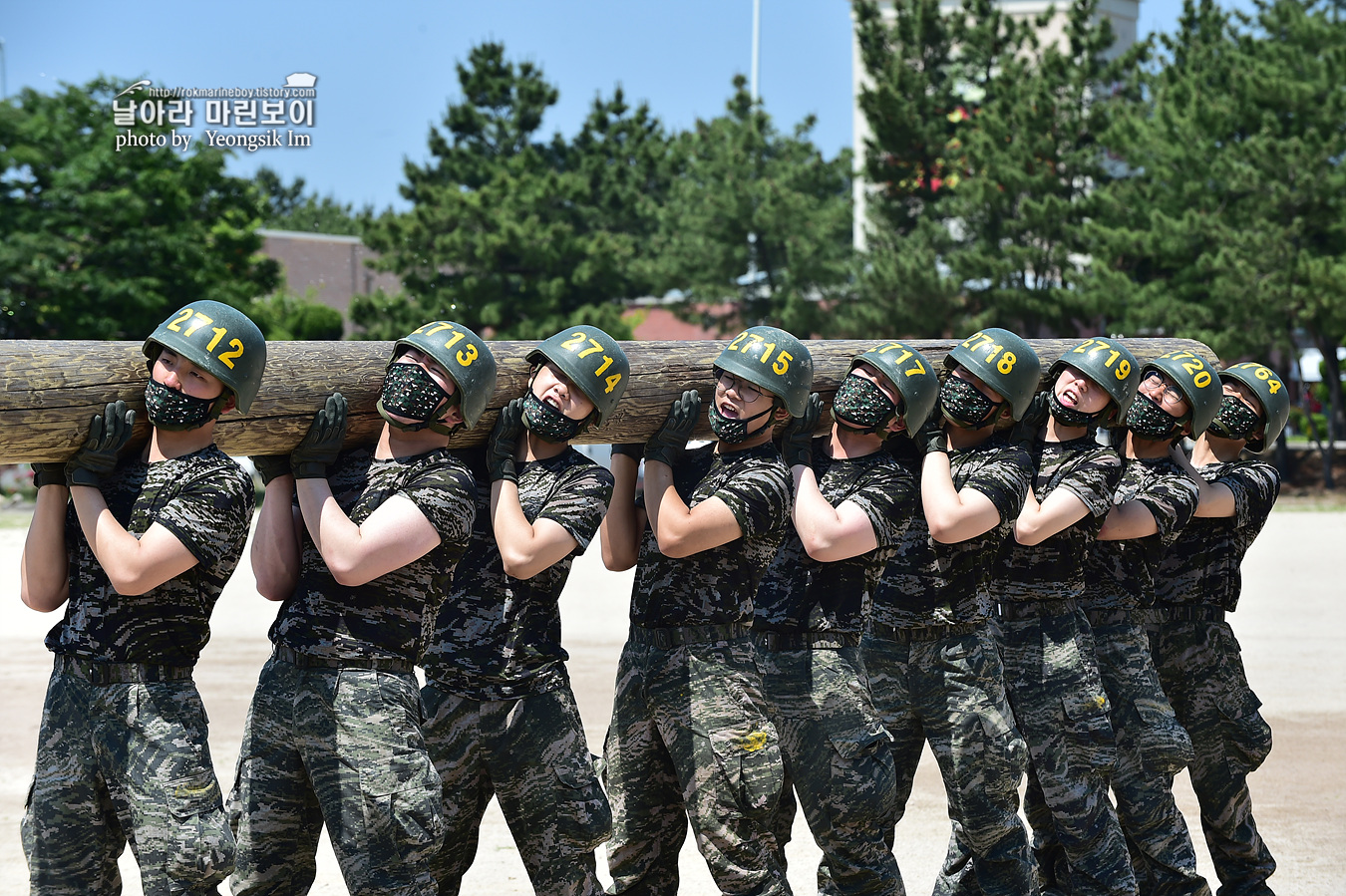 해병대 신병 1257기 2교육대 6주차 목봉 참호격투 7_2191.jpg