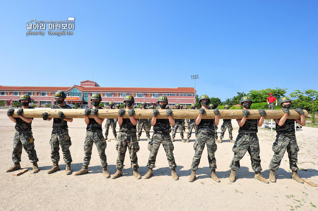 해병대 신병 1257기 2교육대 6주차 목봉 참호격투 1_5540.jpg