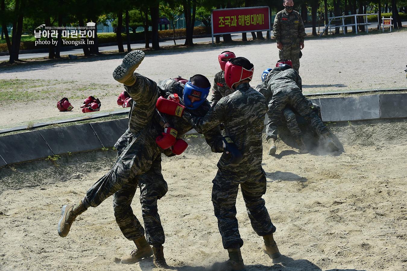 해병대 신병 1257기 2교육대 6주차 목봉 참호격투 _2092.jpg