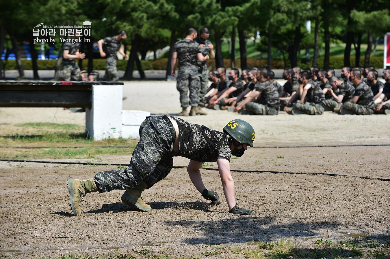 해병대 신병 1257기 2교육대 6주차 목봉 참호격투 1_2503.jpg