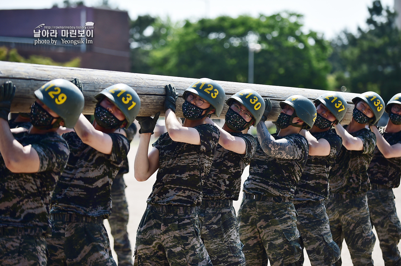 해병대 신병 1257기 2교육대 6주차 목봉 참호격투 1_2513.jpg