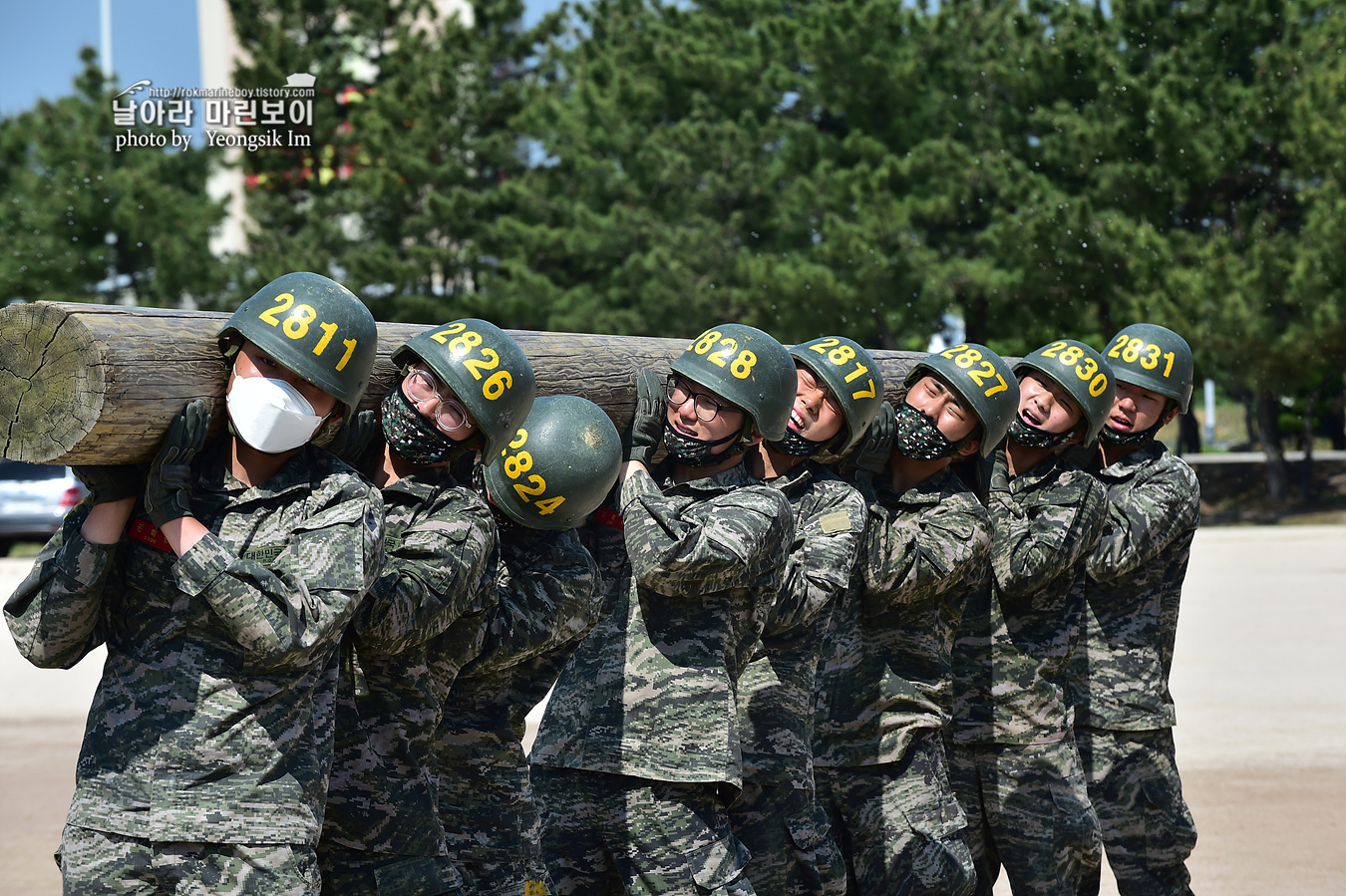 해병대 신병 1257기 2교육대 6주차 목봉 참호격투 8_2103.jpg