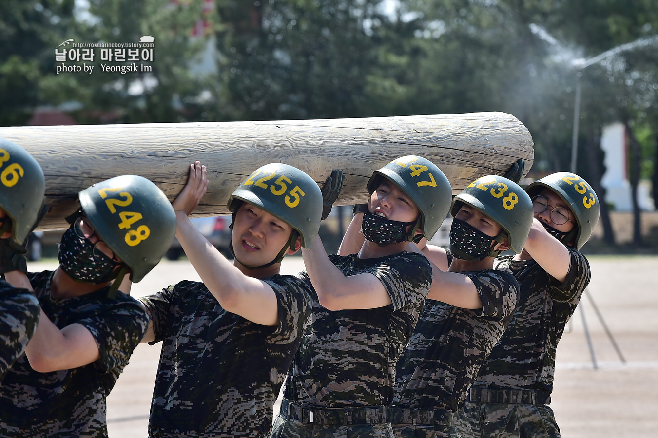 해병대 신병 1257기 2교육대 6주차 목봉 참호격투 2_2465.jpg