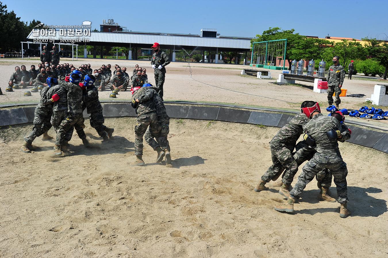 해병대 신병 1257기 2교육대 6주차 목봉 참호격투 _5318.jpg