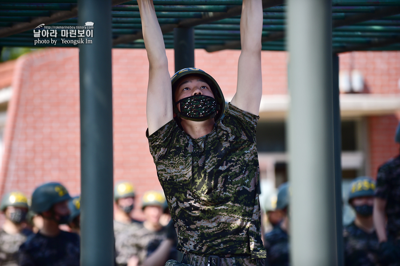 해병대 신병 1257기 2교육대 6주차 목봉 참호격투 2_2546.jpg