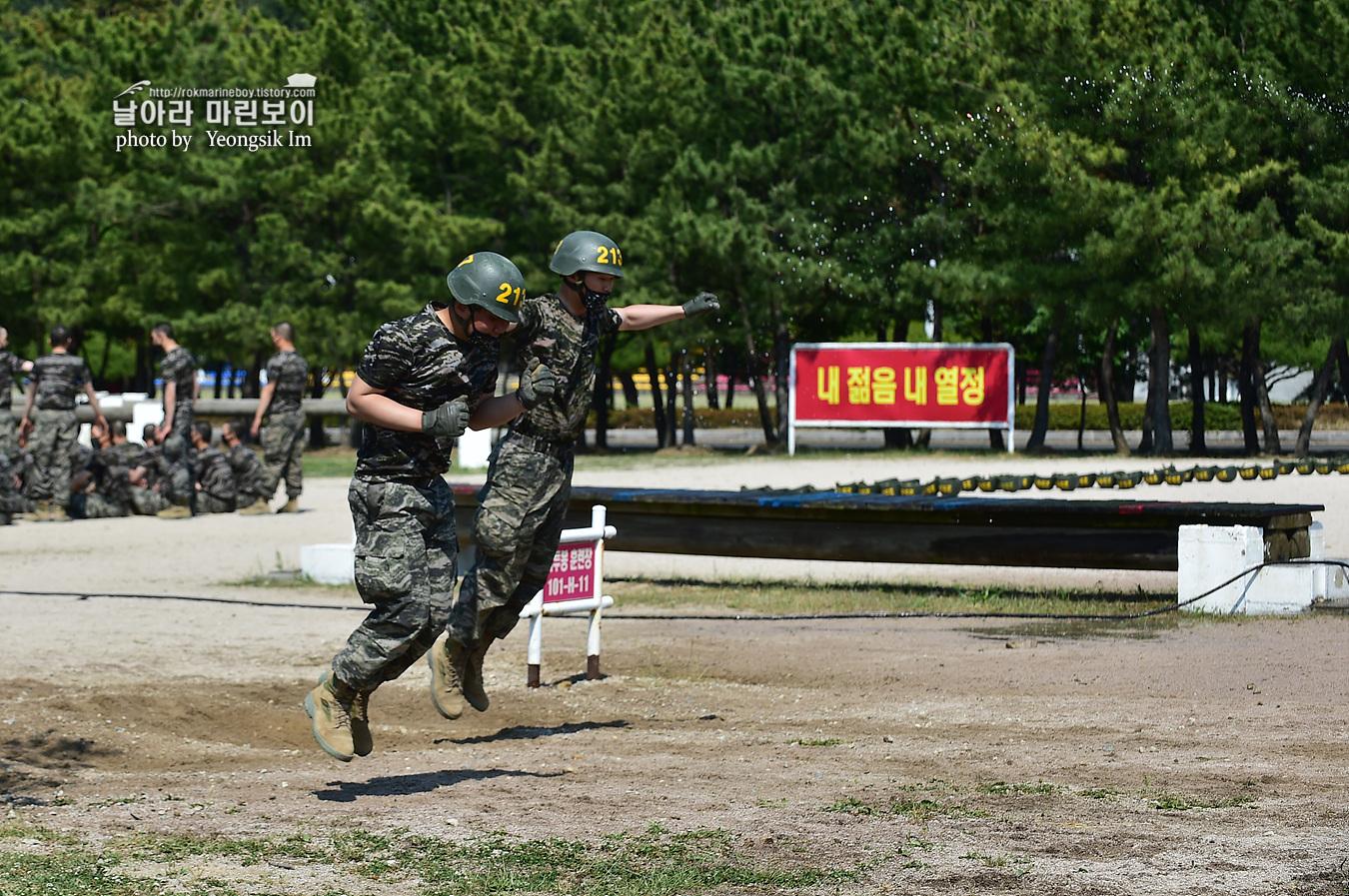 해병대 신병 1257기 2교육대 6주차 목봉 참호격투 1_2483.jpg