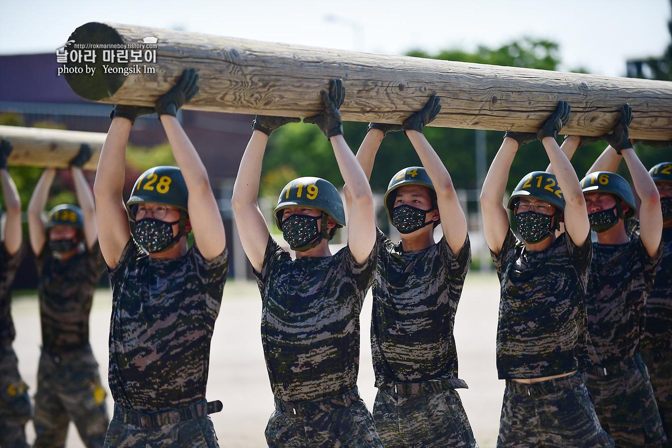 해병대 신병 1257기 2교육대 6주차 목봉 참호격투 1_2511.jpg