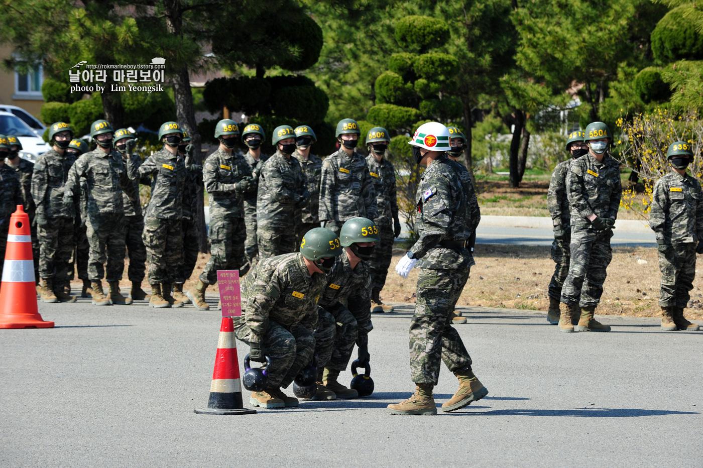 해병대 신병 1256기 2주차 5교육대 전투체력 3_0328.jpg