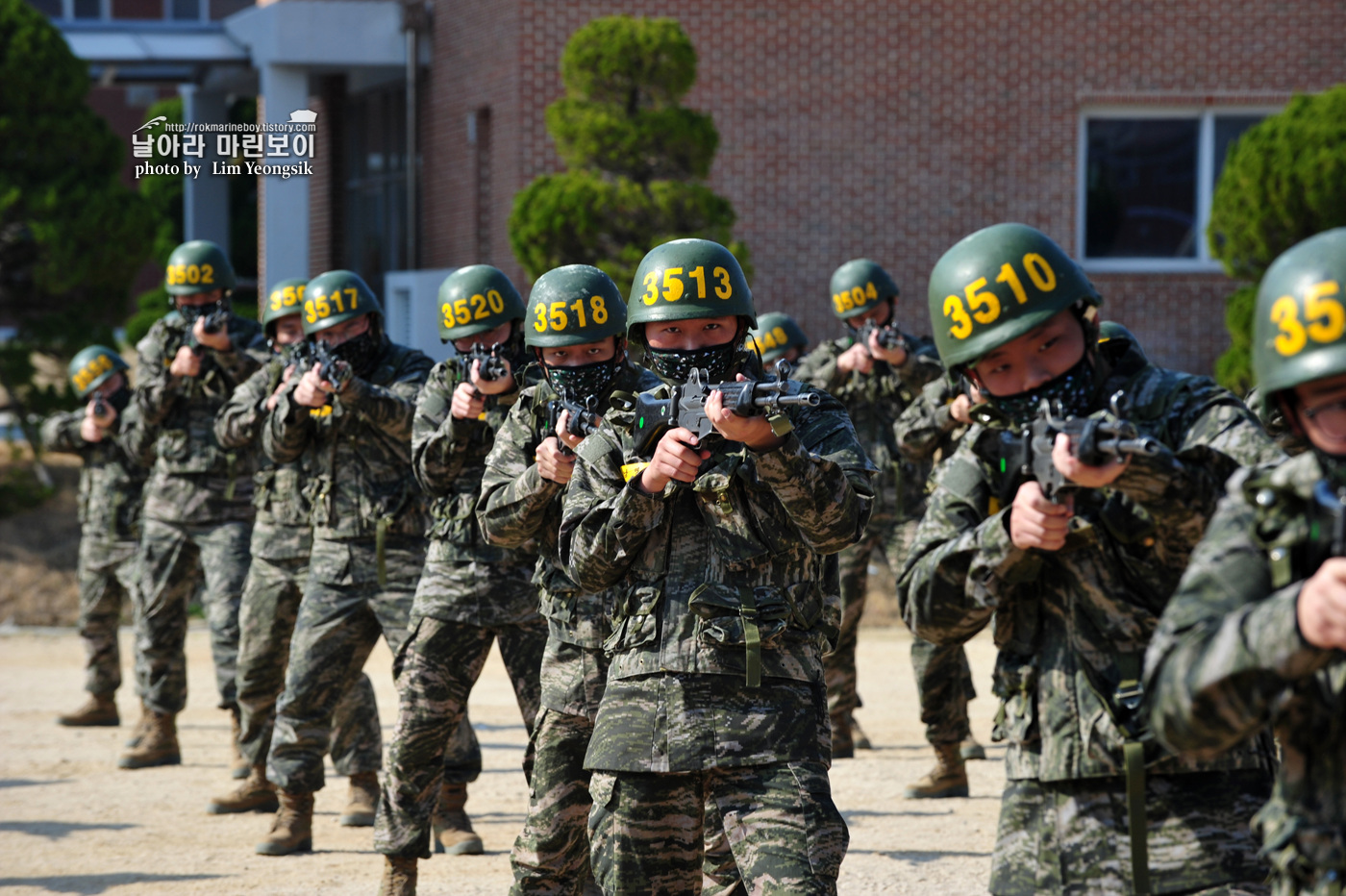 해병대 신병 1256기 2주차 3교육대 군사기초훈련 5_0762.jpg