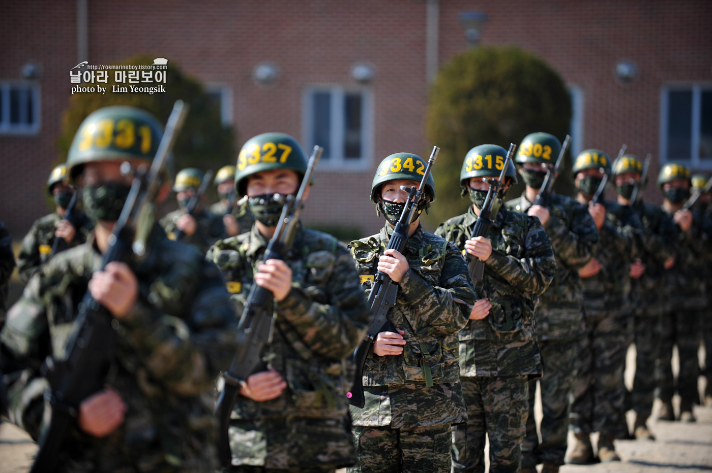 해병대 신병 1256기 2주차 3교육대 군사기초훈련 3_0776.jpg