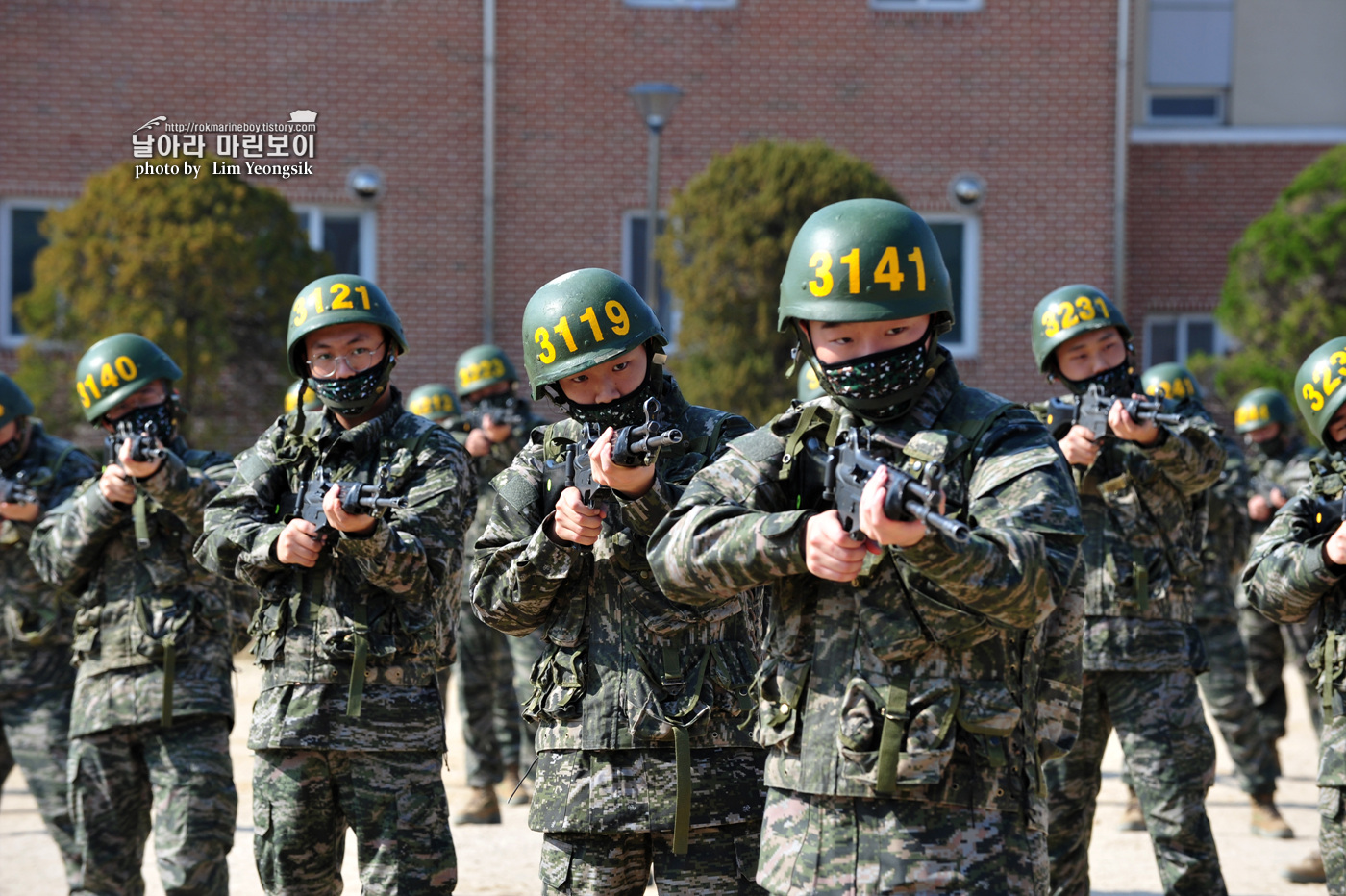 해병대 신병 1256기 2주차 3교육대 군사기초훈련 1_0771.jpg