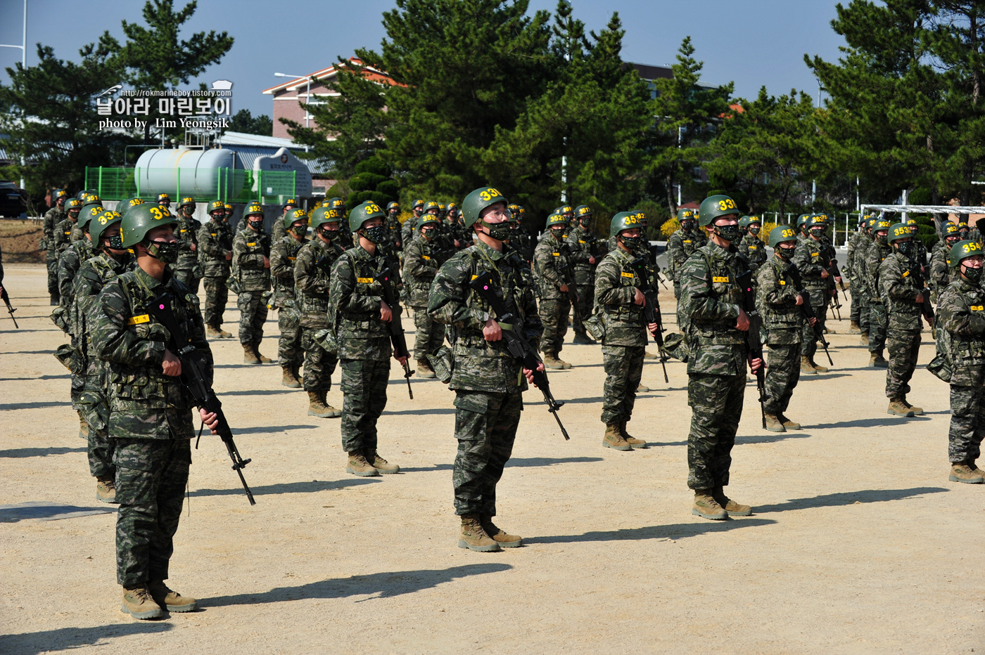 해병대 신병 1256기 2주차 3교육대 군사기초훈련 3_0764.jpg