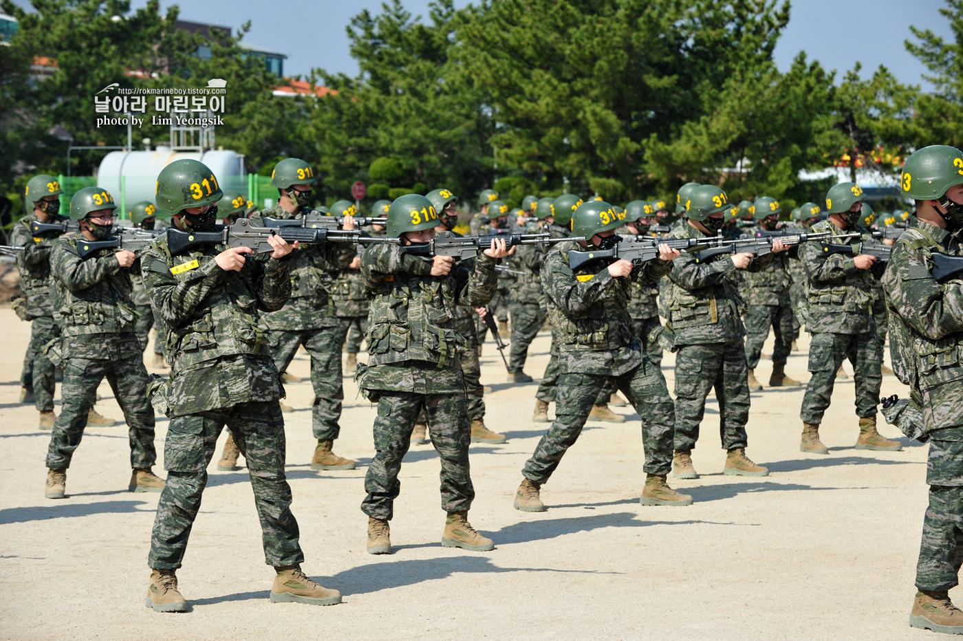 해병대 신병 1256기 2주차 3교육대 군사기초훈련 1_0770.jpg