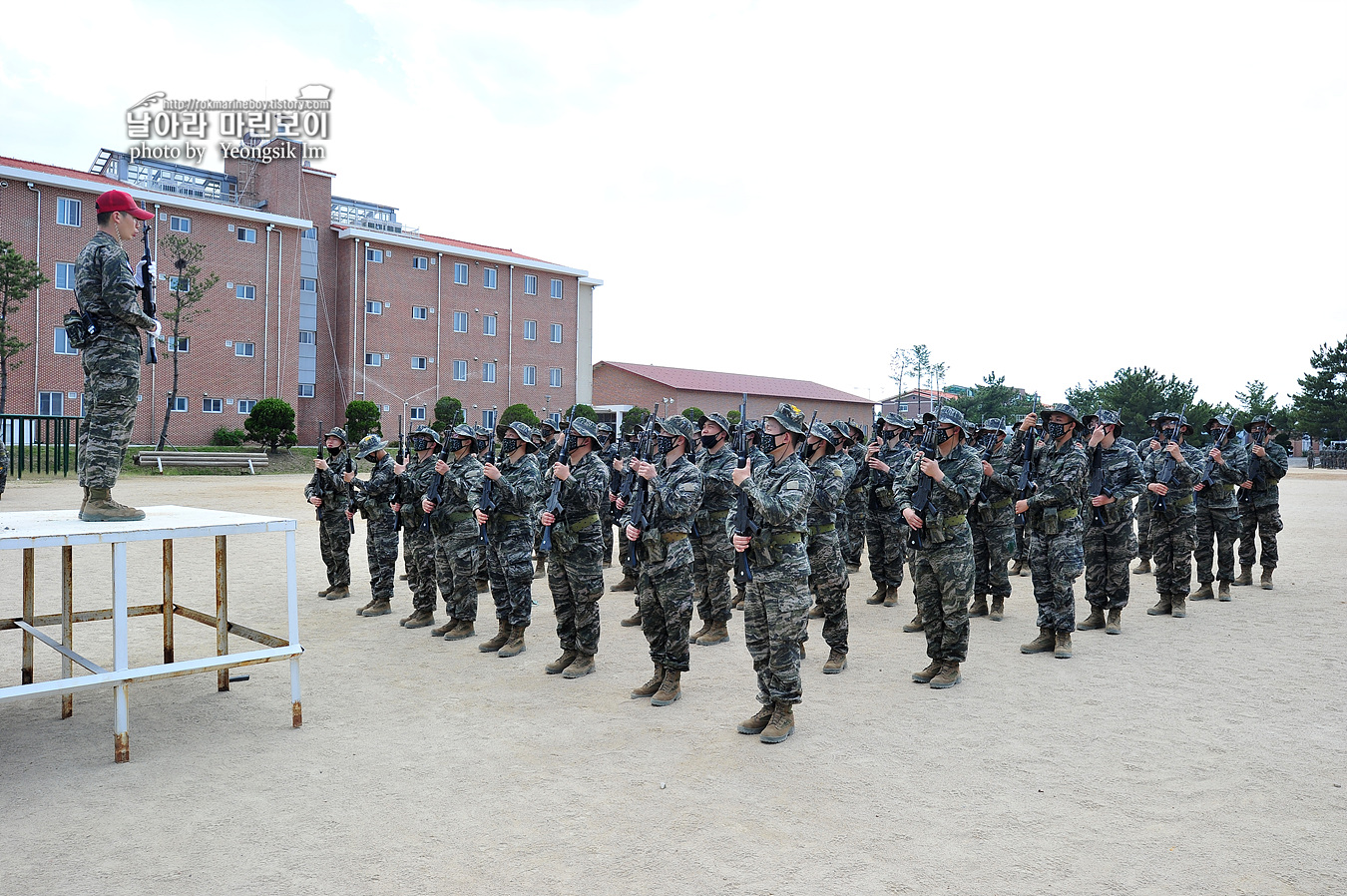 해병대 신병 1258기 2주차 훈련모음 _1553.jpg