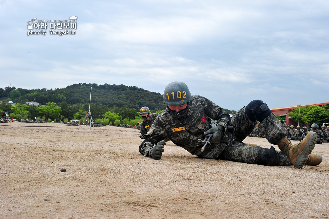 해병대 신병 1257기 1교육대 3주차 각개전투연습 1_9796.jpg