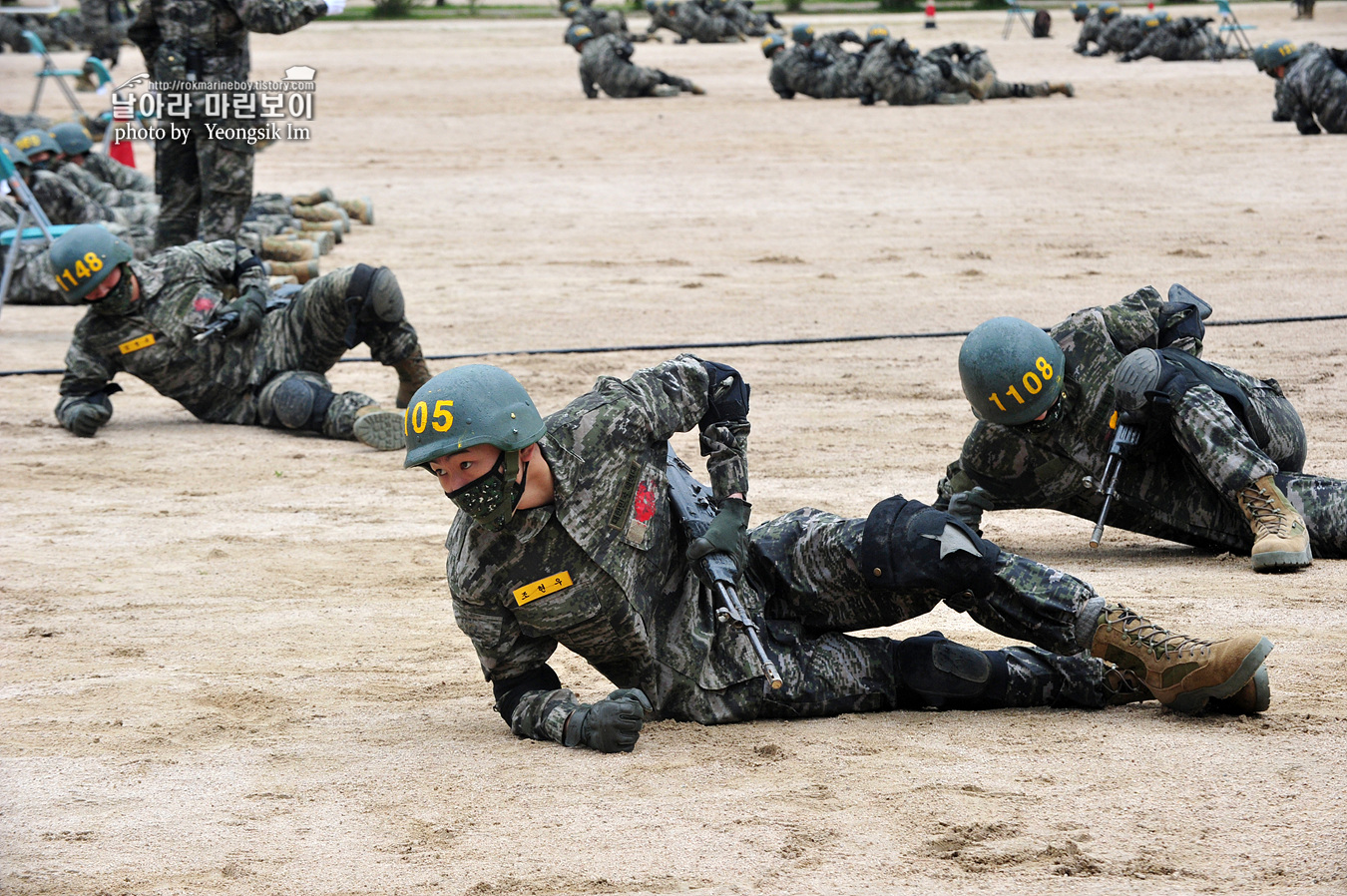 해병대 신병 1257기 1교육대 3주차 각개전투연습 1_1027.jpg