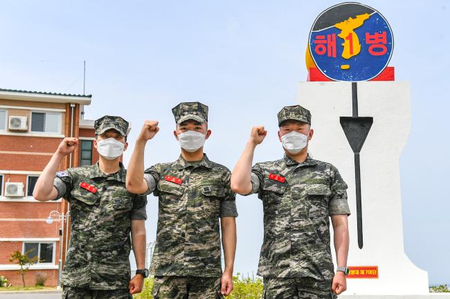 해병대1사단 진유근 하사·우준수 병장·조혁진 일병 트랙터 사고 수습.jpg