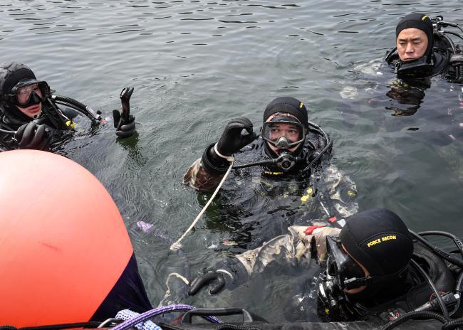 해병대 2사단 수색대대, 수상침투종합훈련 실시.jpg