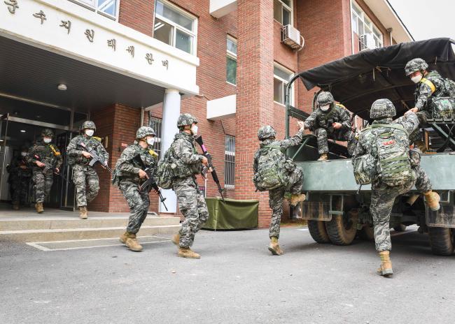 해병대2사단 군수대대 전술훈련 1.jpg
