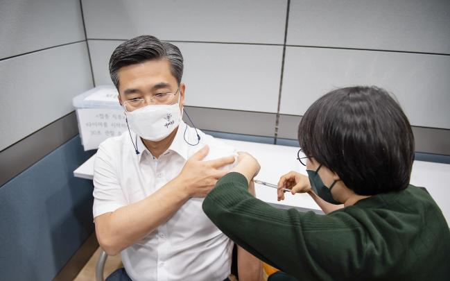 서욱 국방부장관 수도병원 방문 특별방역점검.jpg
