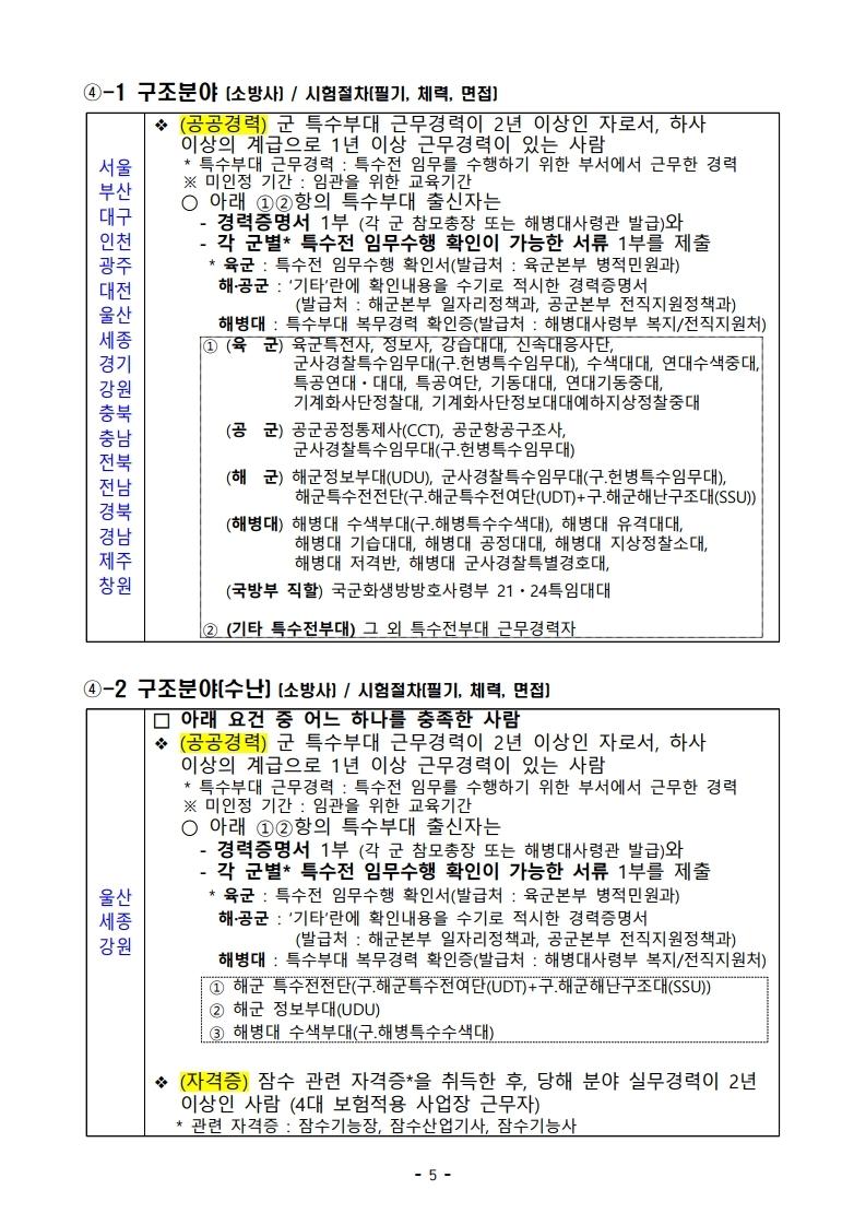파일 2) 경력경쟁채용 응시자격 및 경력요건.pdf_page_05.jpg