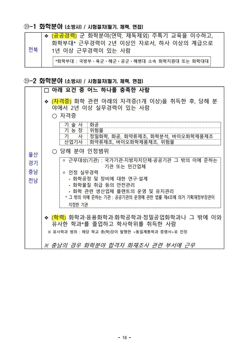 파일 2) 경력경쟁채용 응시자격 및 경력요건.pdf_page_18.jpg