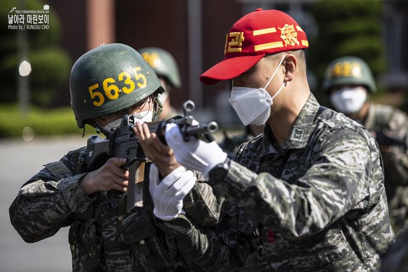 신병 1268기 5 교육대 3주 차 - 각개전투훈련 및 개인화기사격술훈련 2.jpg