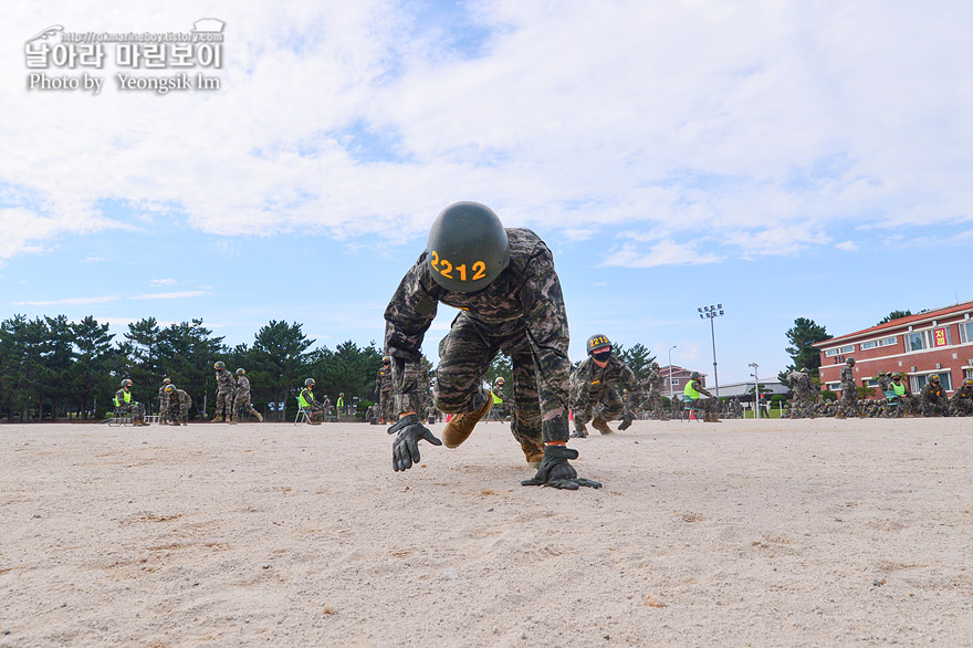 해병대 신병 1273기 2교육대 4주차 전투체력1_1801.jpg