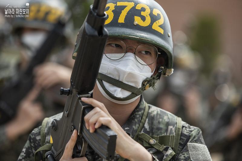 신병 1268기 3교육대 4주차 - 전투사격술 훈련 1.jpg