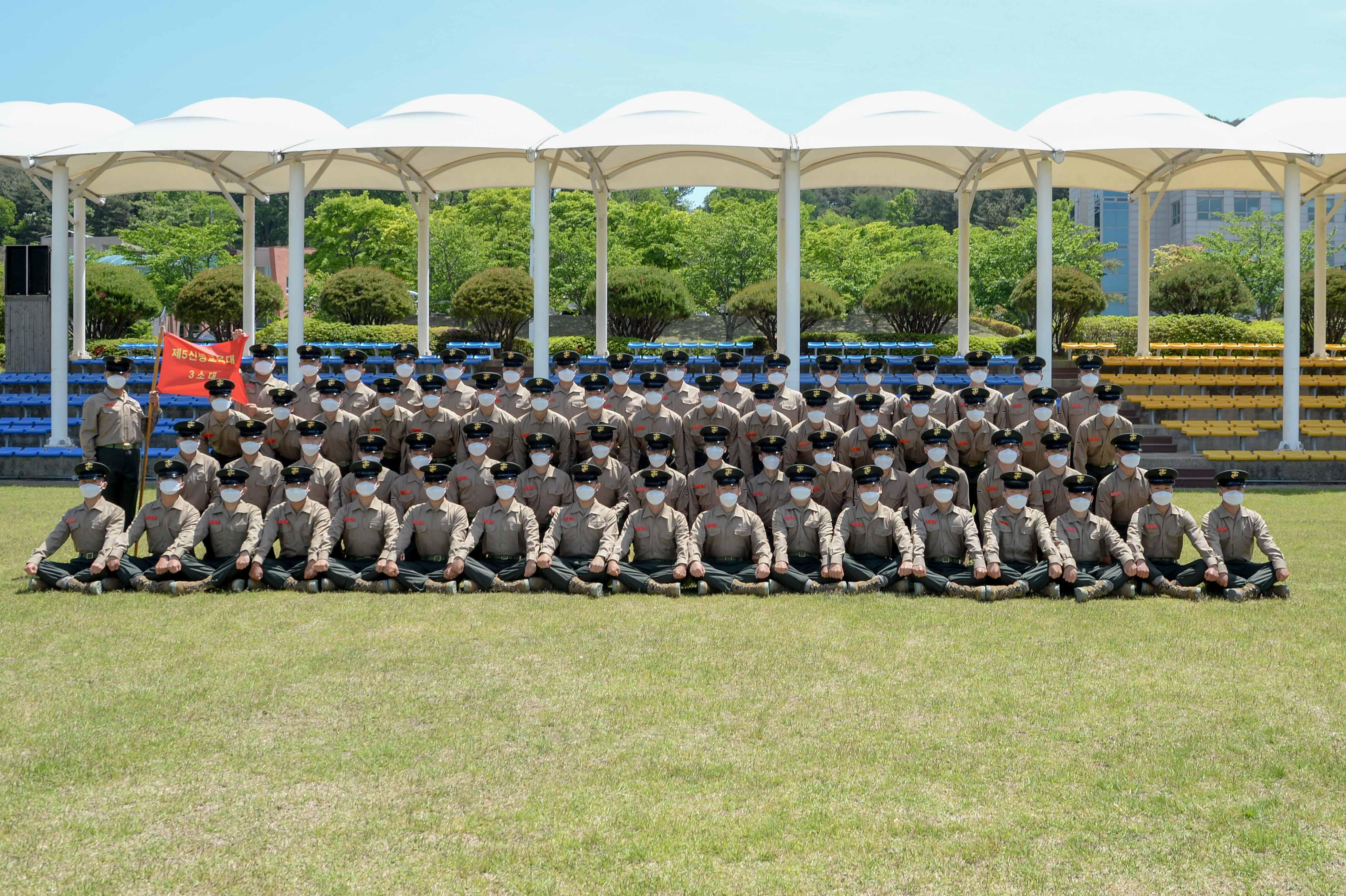 해병대 신병 1268기 5교육대 수료 기념 단체사진 3.jpg