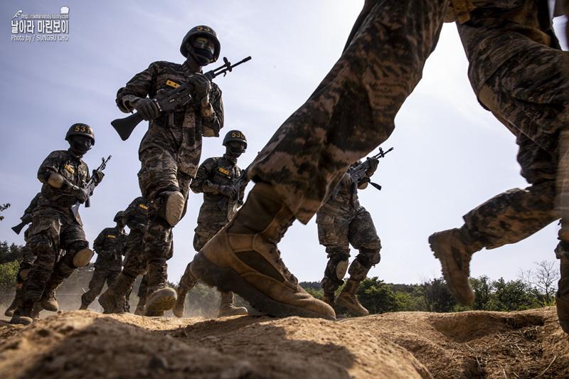 신병 1268기 5교육대 극기주 - 각개전투훈련 1.jpg