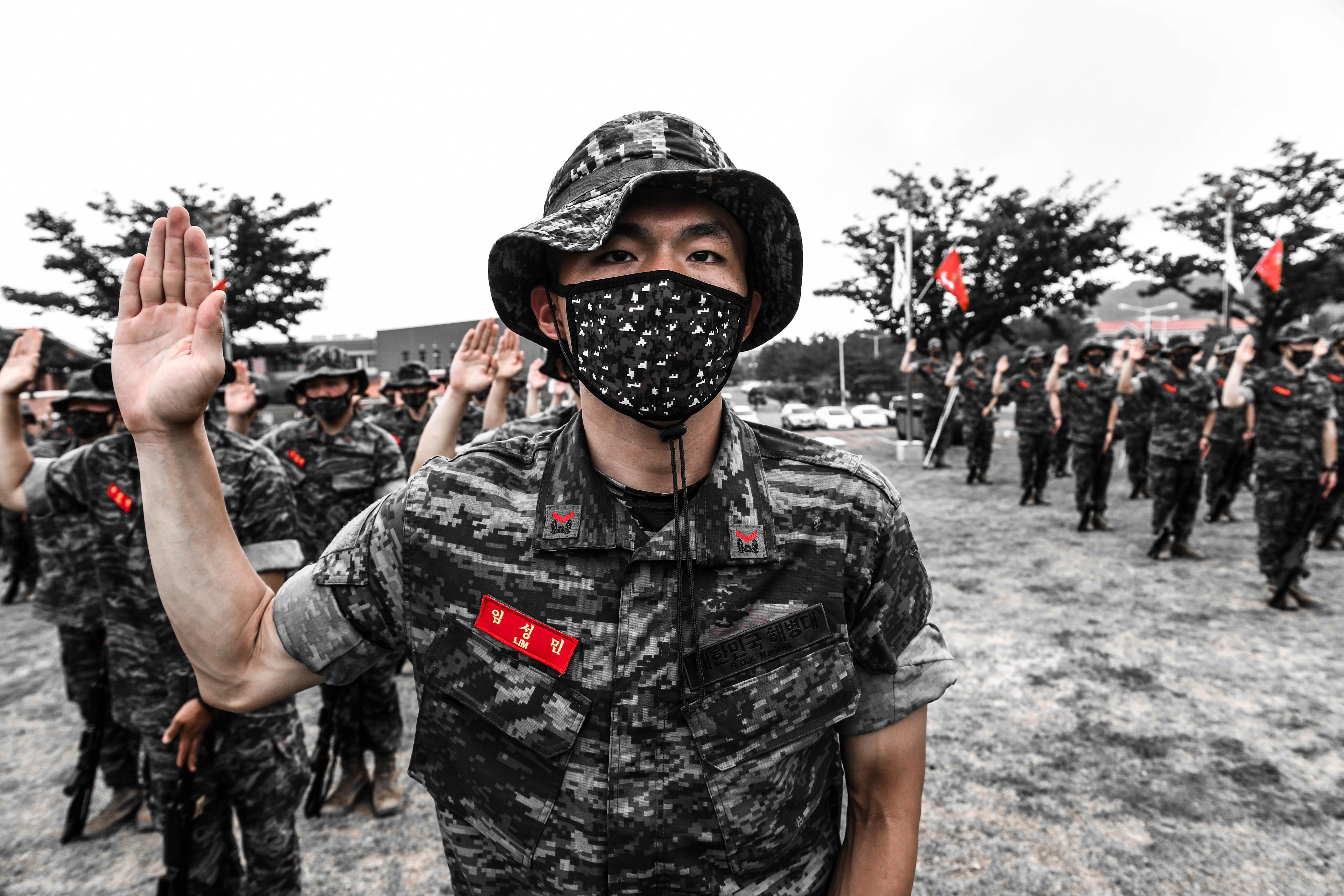 해병대 부사관후보생 390기 빨간명찰수여식 10.jpg
