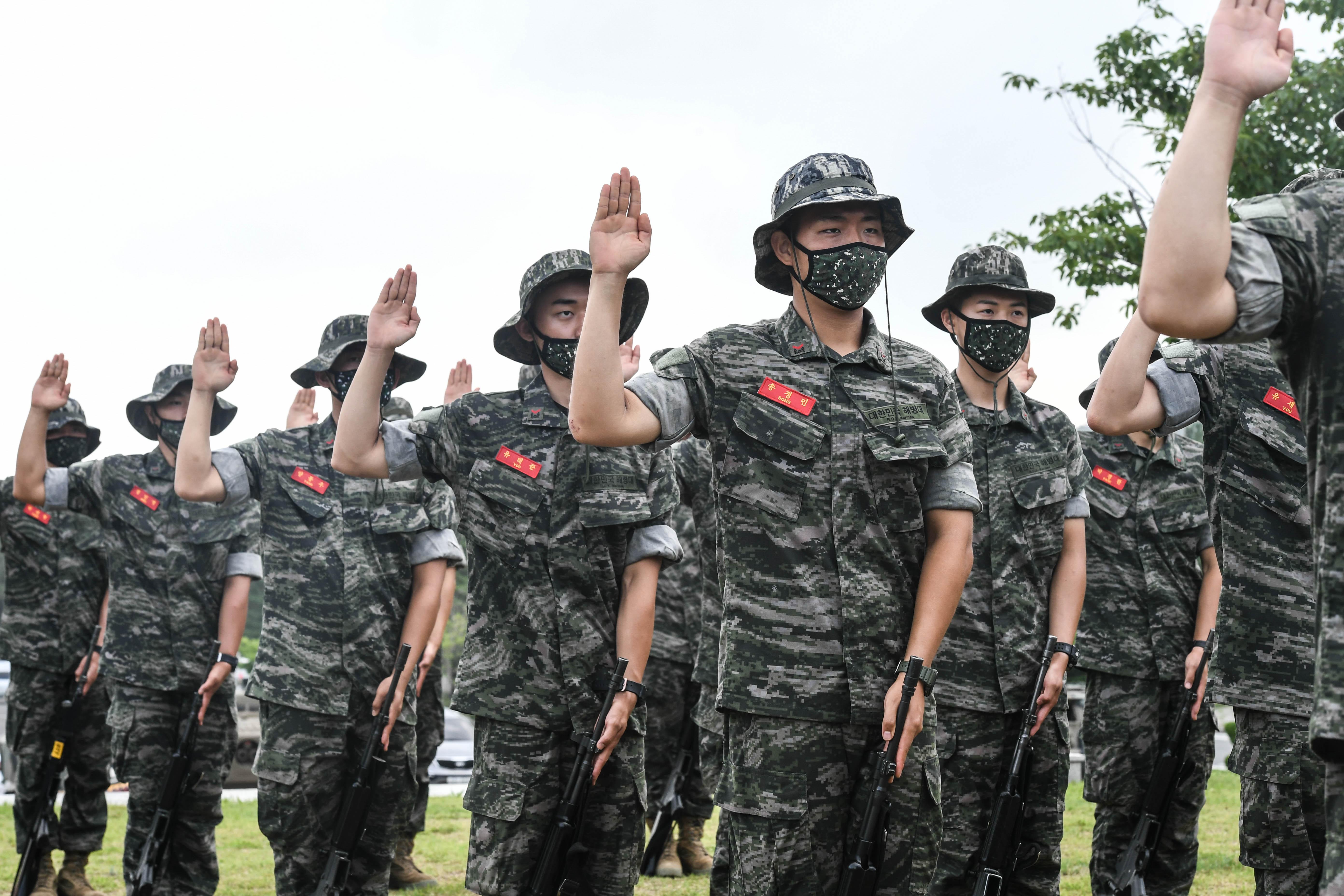 해병대 부사관후보생 390기 빨간명찰수여식 17.jpg