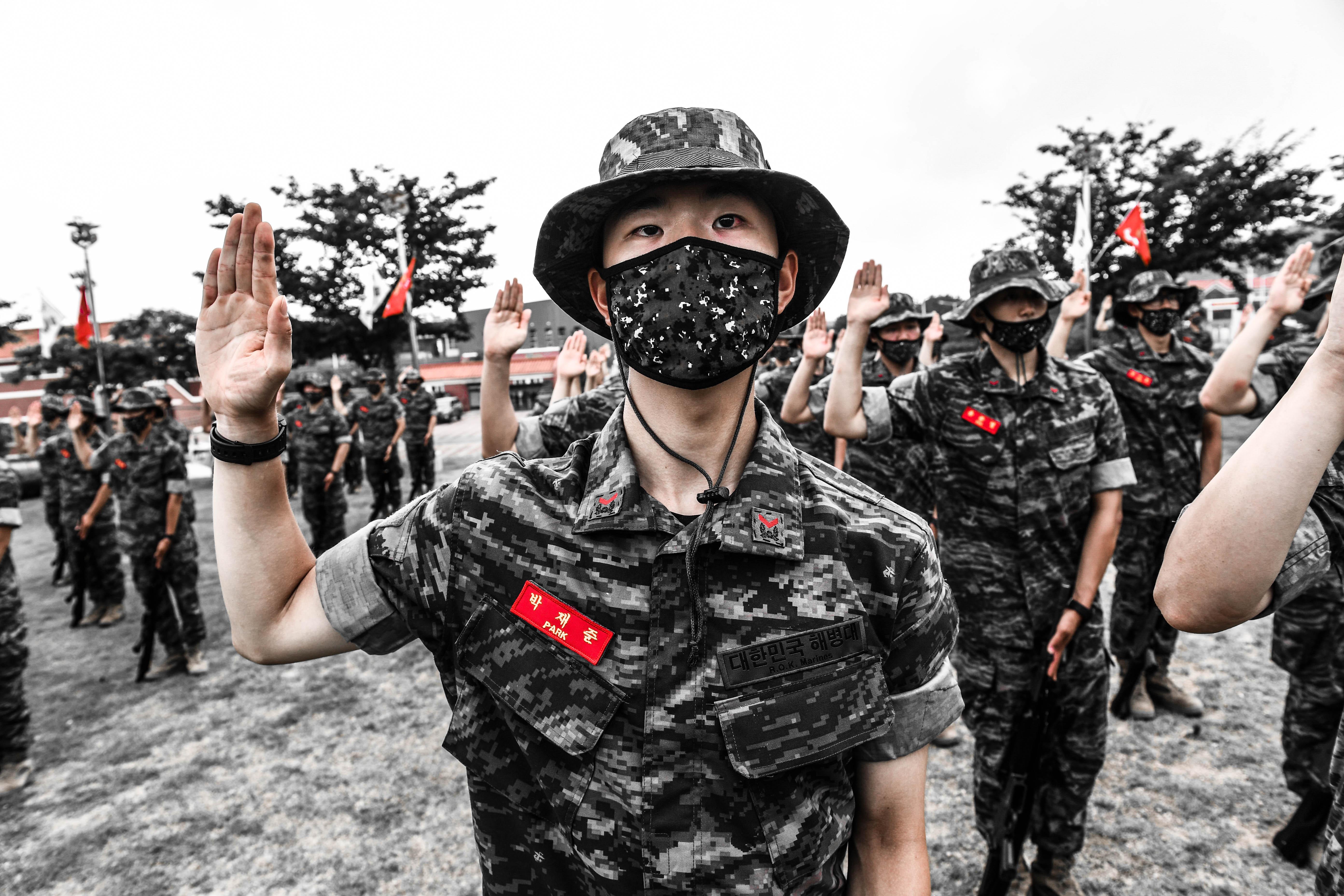 해병대 부사관후보생 390기 빨간명찰수여식 8.jpg