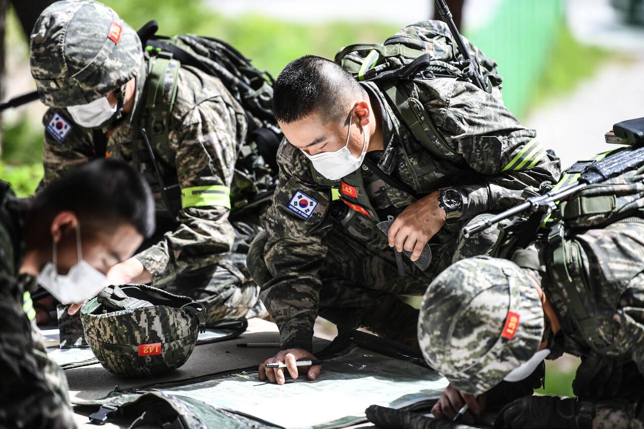 해병대 사관후보생 130기 독도법훈련 11.jpg