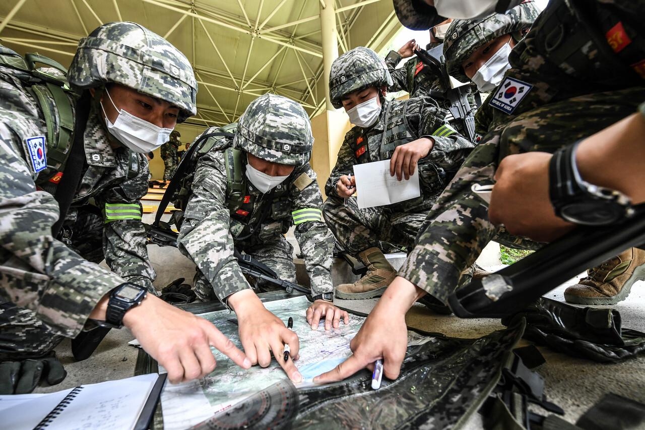 해병대 사관후보생 130기 독도법훈련 6.jpg