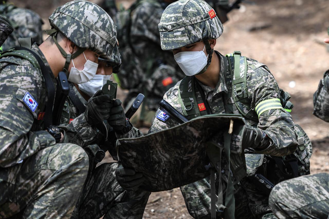 해병대 사관후보생 130기 독도법훈련 13.jpg