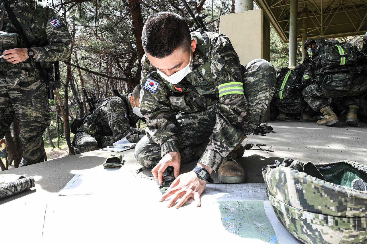 해병대 사관후보생 130기 독도법훈련 5.jpg