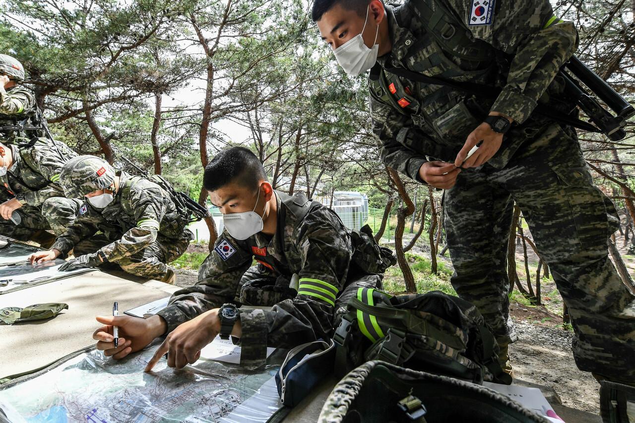 해병대 사관후보생 130기 독도법훈련 7.jpg