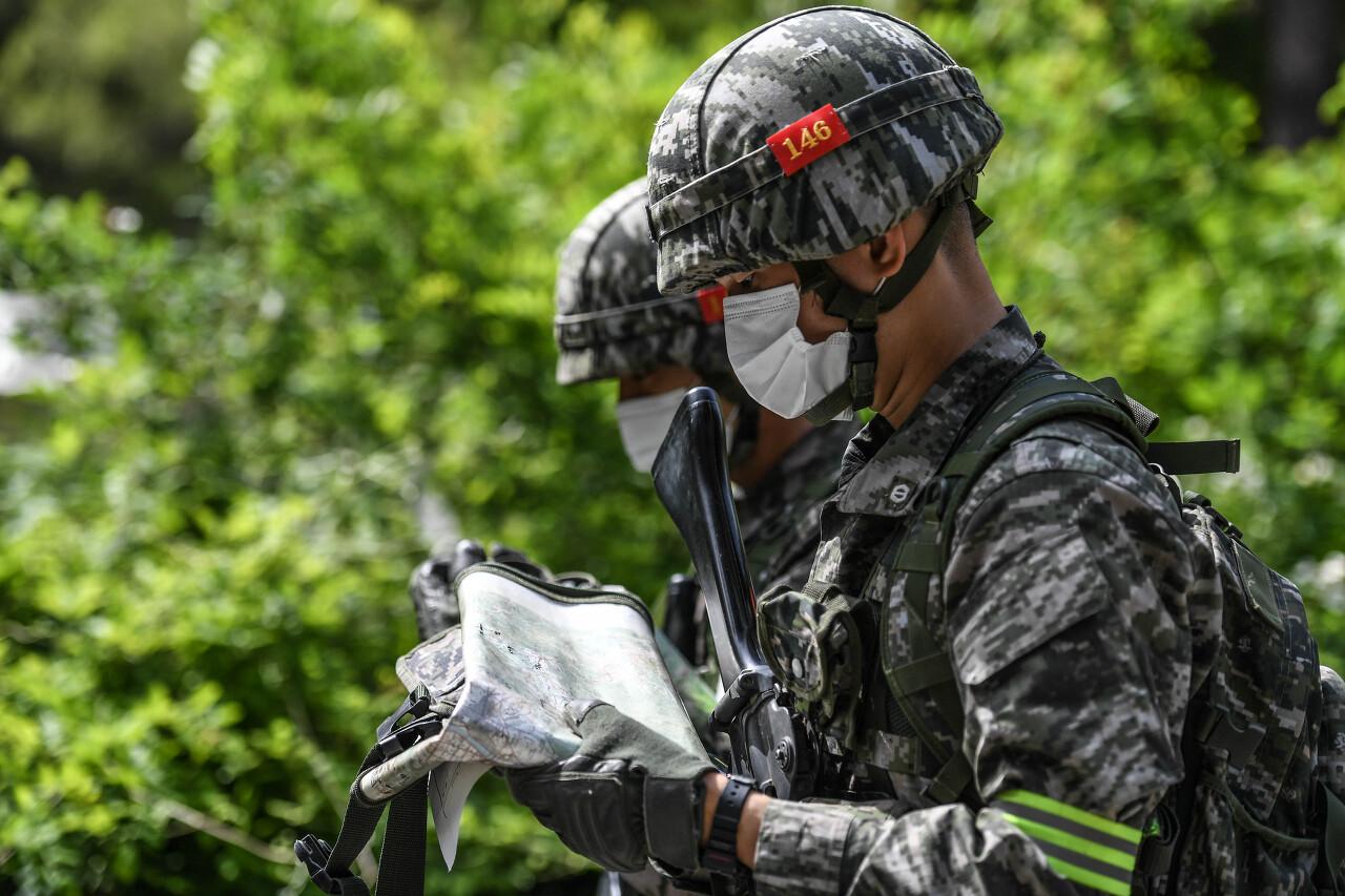 해병대 사관후보생 130기 독도법훈련 17.jpg