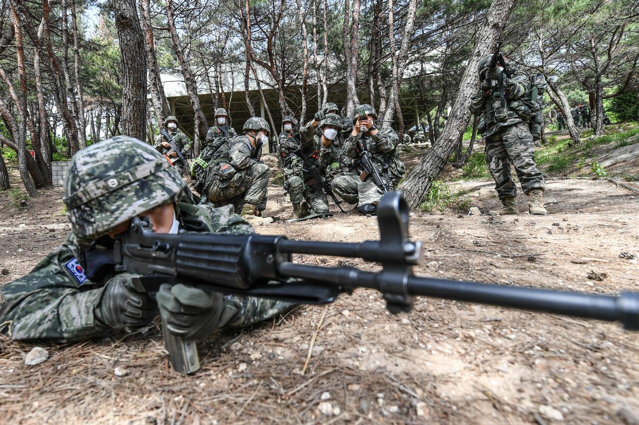해병대 사관후보생 130기 독도법훈련 12.jpg