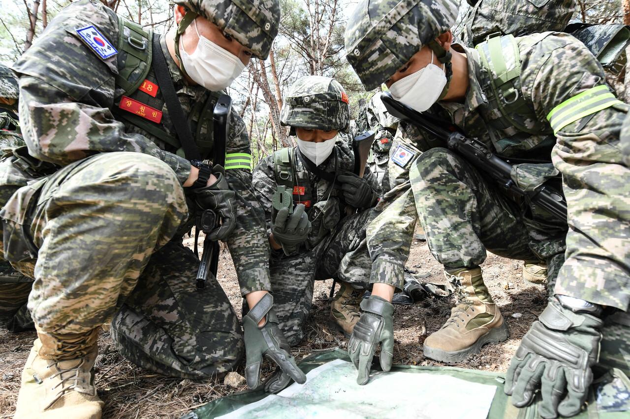 해병대 사관후보생 130기 독도법훈련 16.jpg