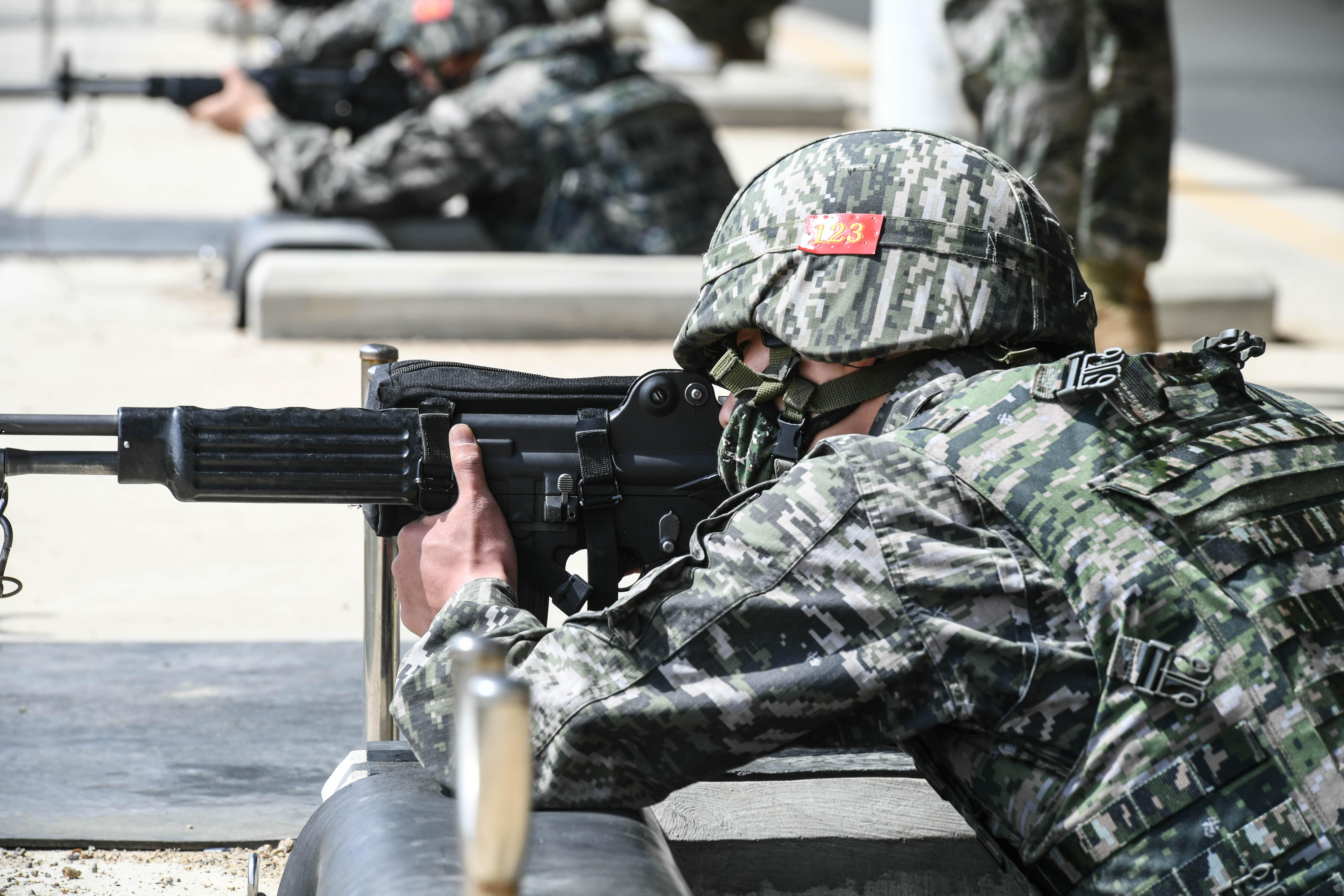 해병대 부사관후보생 389기 전투사격 13.jpg