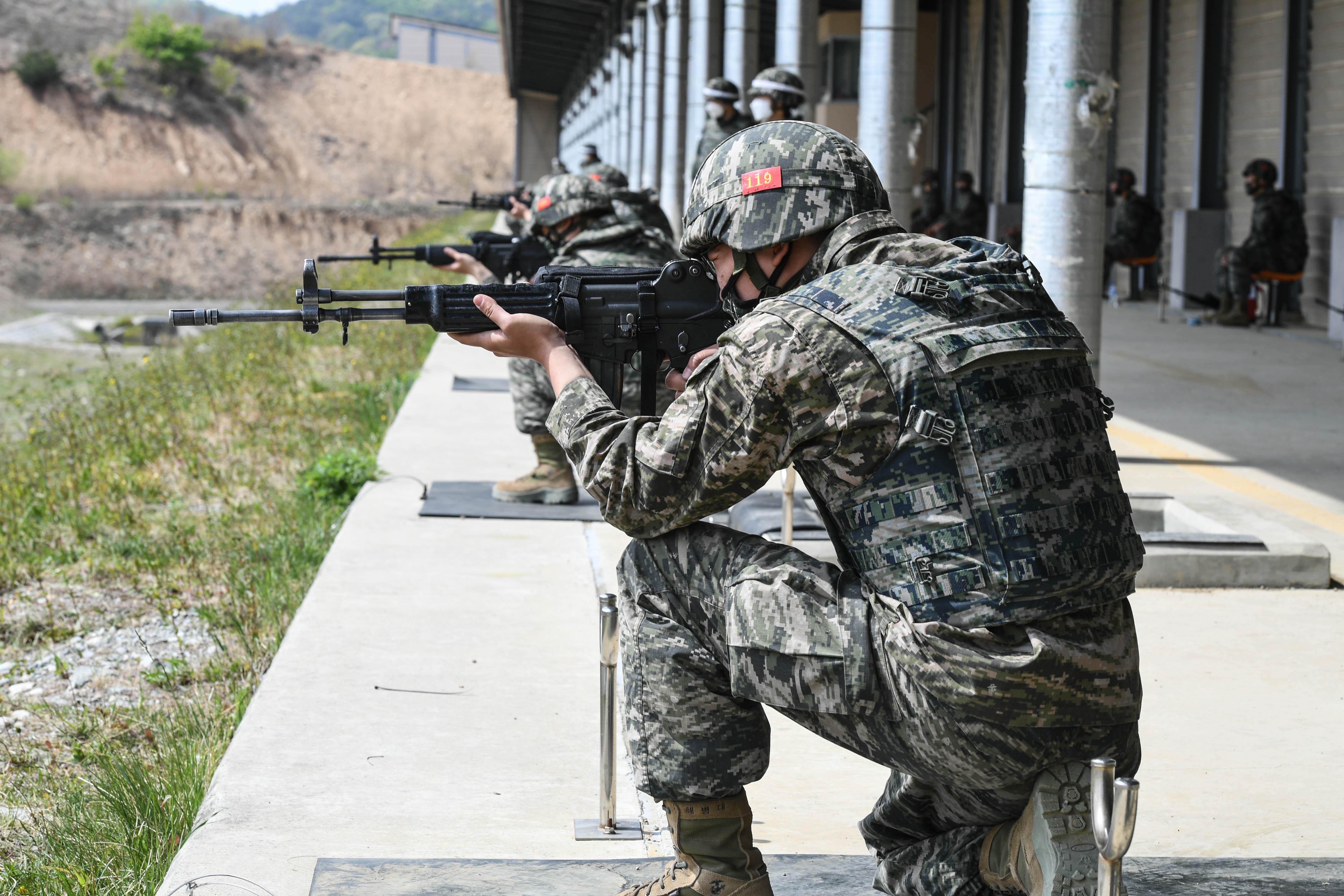 해병대 부사관후보생 389기 전투사격 11.jpg
