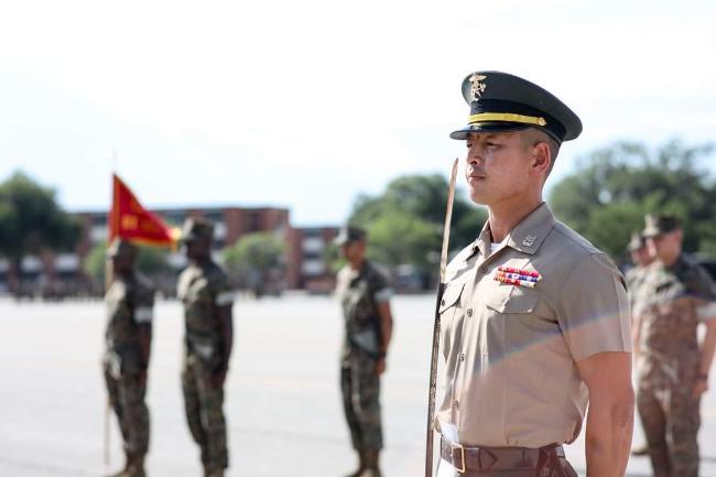 43세 김혁 상사, 해병 특유의 도전 정신으로 미 해병대 DI(훈련교관) 교육 수료 1.jpg